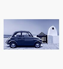 Italian car Fiat 500 Photographic Print