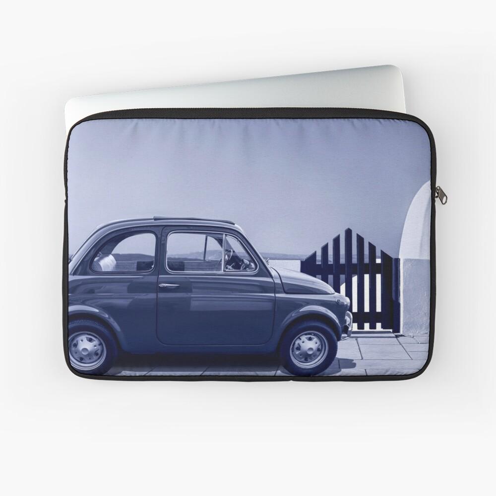 Italian car Fiat 500 Laptop Sleeve Front