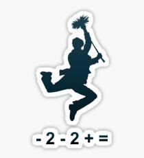 - 2 - 2 + = / Chim-Chim Cher-ee Sticker