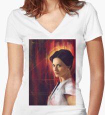 Irene Adler Women's Fitted V-Neck T-Shirt