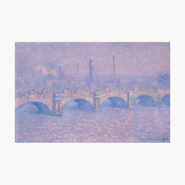Claude Monet - Waterloo Bridge (1903) Photographic Print