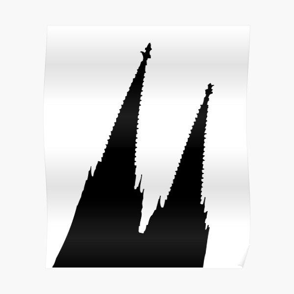 Kölner Dom Schräg Poster