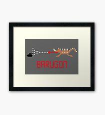 Barugon Pixel Framed Print