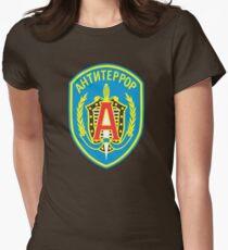 Spetsnaz Alpha Group Womens Fitted T-Shirt