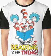 Read Across America - Reading is my Thing Graphic T-Shirt