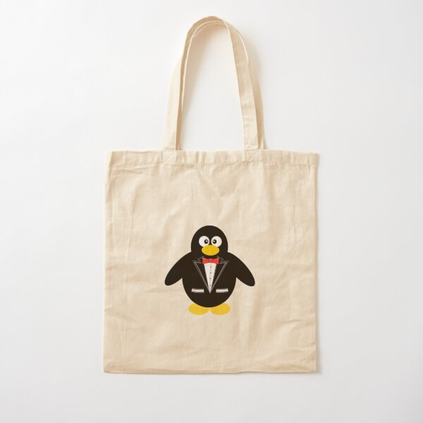 Papa Tux in a Tuxedo Cotton Tote Bag
