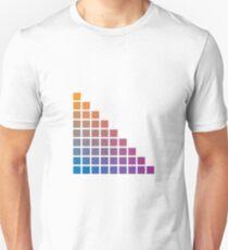 Ombre orange>purple T-Shirt