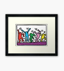 Keith Haring Dance Framed Print
