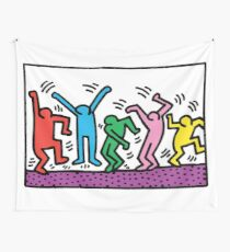 Keith Haring Dance Wall Tapestry