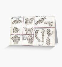 Human Anatomy 3 Greeting Card
