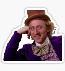 Condescending Wonka Sticker