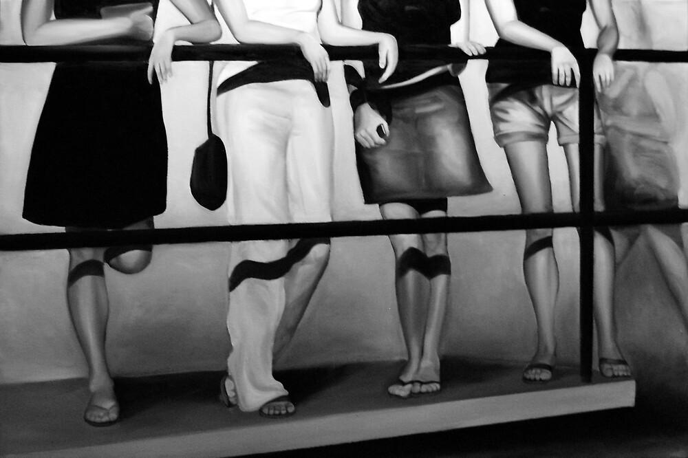 Girls, 2012, 120-80cm, oil on canvas by oanaunciuleanu