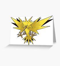 Pokemon Phoenix Greeting Card