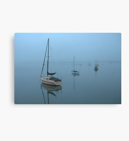 Mist across the Bay Canvas Print