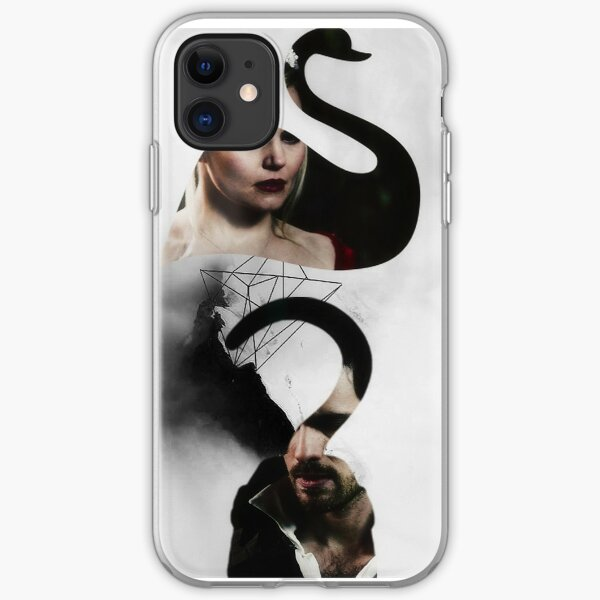 The Swan to my Pirate iPhone Soft Case
