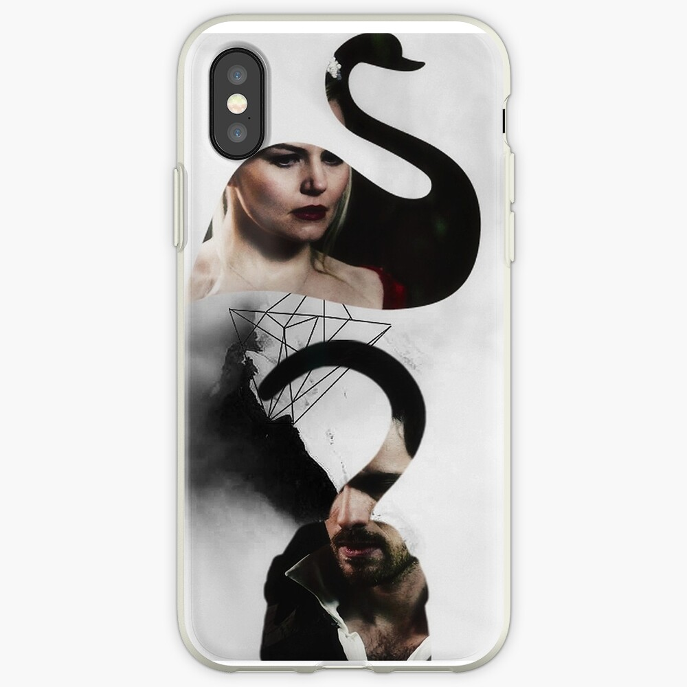 The Swan to my Pirate iPhone Cases & Covers