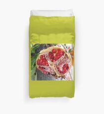 Half of a Pomagranate Duvet Cover