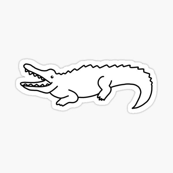 Hello Crocodile Sticker