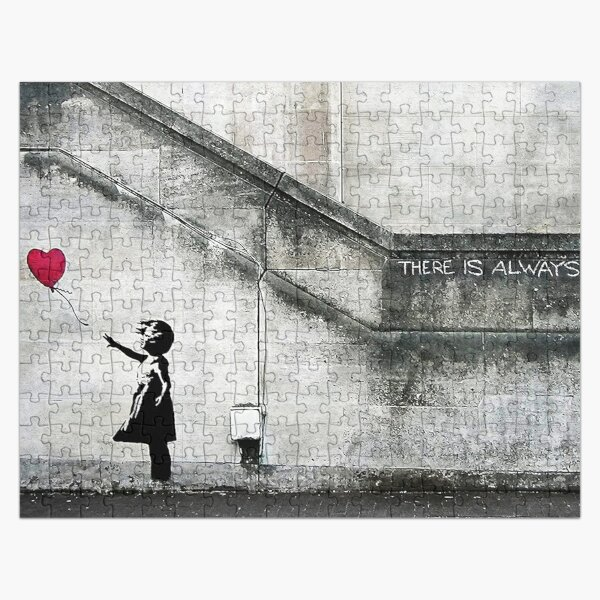 Balloon Girl - There Is Always Hope | Original Mural Jigsaw Puzzle