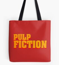 Pulp fiction title Tote Bag