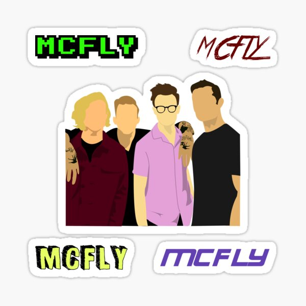 Mcfly Pack Perfect Gift Sticker