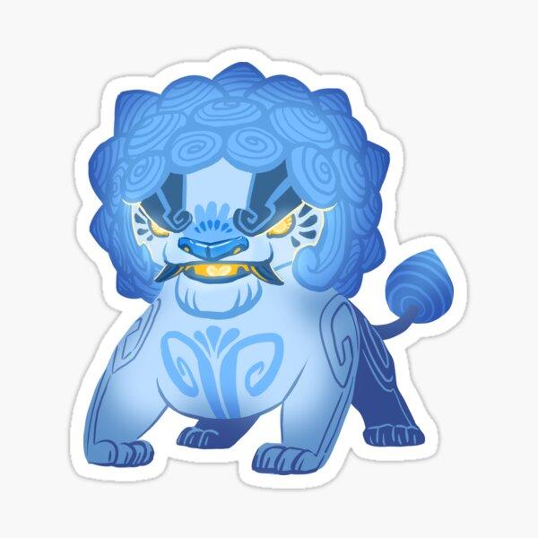 Stone lion Sticker