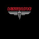 Viscount wings logo and text by C.J. Jackson