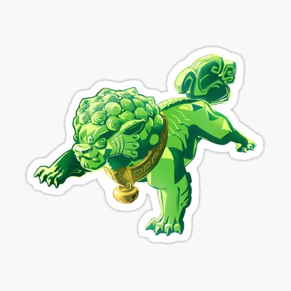 Jade fu Sticker