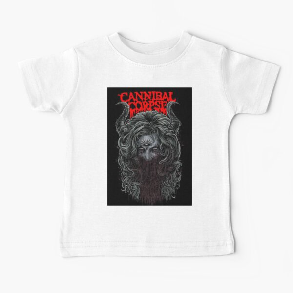 KkdsKkds Cannibal Corpse Small Child Unisex Baby Short Sleeve 0-24 Months Black