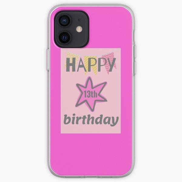 happy 13th birthday iPhone Soft Case