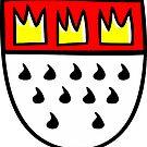 Kölner Wappen - Stadtwappen von Köln von theshirtshops