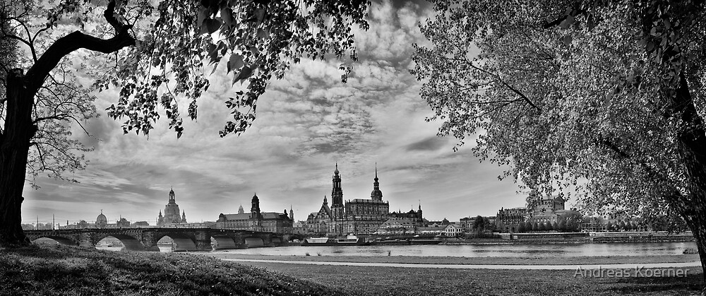 """The Barok Heart of Europe"" (B&W) by Andreas Koerner"