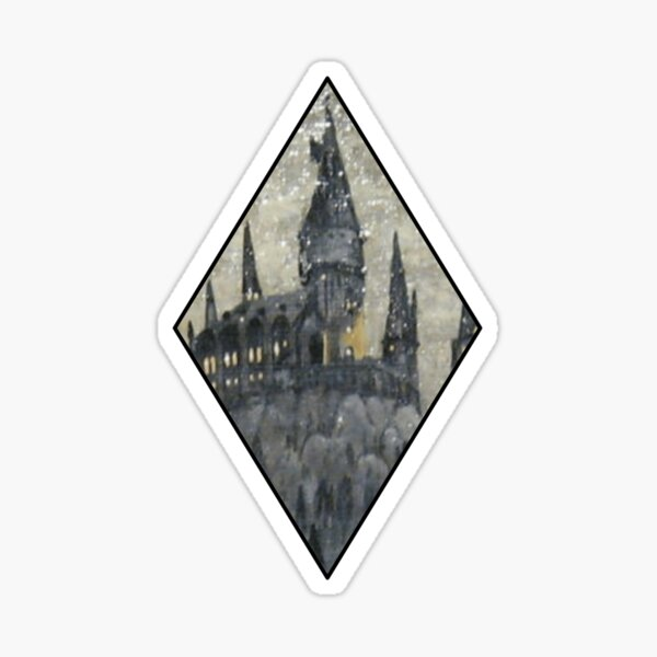 Magic Diamond Winter Castle  Sticker