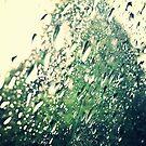 Rain drops on the car by FreyaCariad97