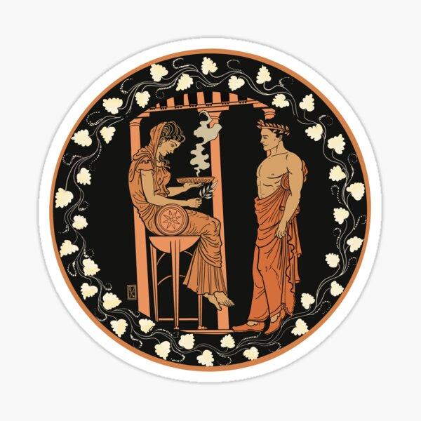 Pythian Oracle of Delphi Sticker