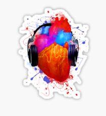 No Music - No Life Sticker