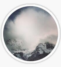 The alps 3 Sticker
