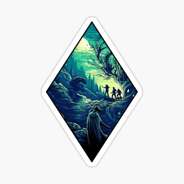 Magic Diamond Golden Trio and Beasts Sticker