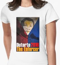 Rodrigo Duterte Women's Fitted T-Shirt