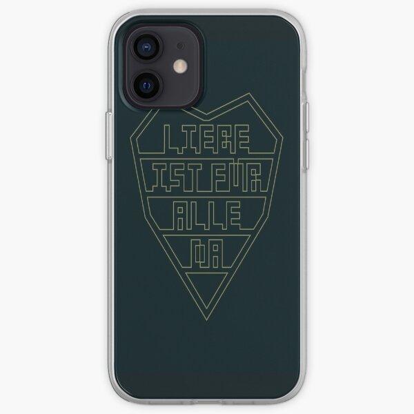 Liebe ist fue alle da Coque souple iPhone