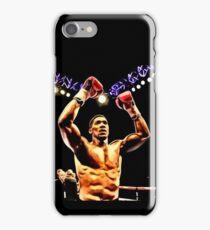 FAN ART - Anthony Joshua World Champion Boxing iPhone Case/Skin