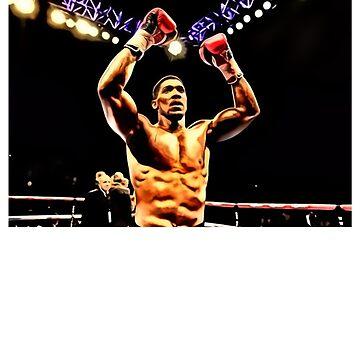 FAN ART - Anthony Joshua World Champion Boxing by RighteousOnix