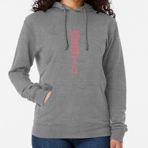#Woman #Body #Silhouette #Clipart, anatomy, cute, sensuality, sex symbol, striped, elegance, design Lightweight Hoodie