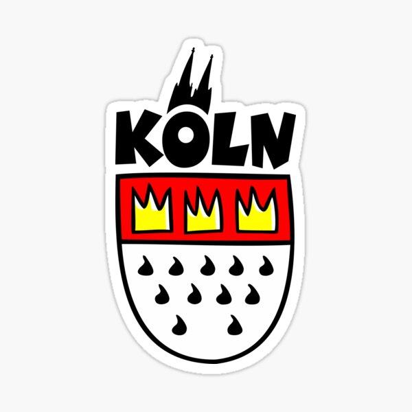 Ein Wappen von Köln Sticker