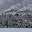 Industrial Chimneys by robevans