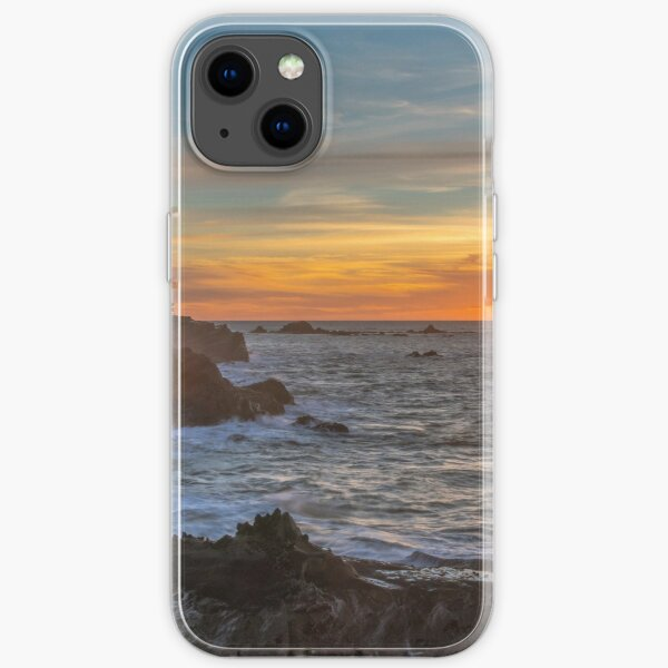 Winter Sunset at Shore Acres iPhone Soft Case