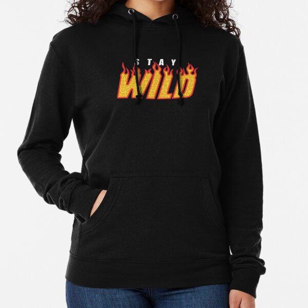 Stay Wild Fire Ben Azelart Lightweight Hoodie