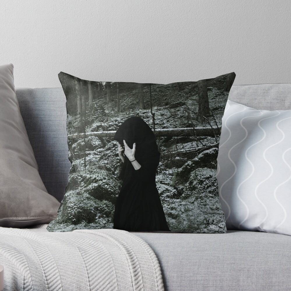 Forest Witch II Throw Pillow