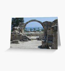 Cyprus Greeting Card