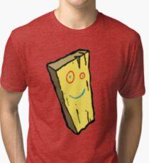 Ed, Edd N Eddy Plank Design  Tri-blend T-Shirt